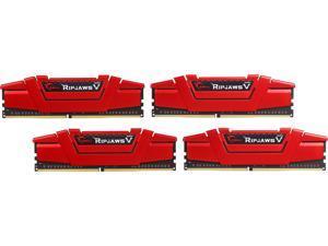 G.SKILL Ripjaws V Series 32GB (4 x 8GB) 288-Pin DDR4 SDRAM DDR4 3200 (PC4 25600) Desktop Memory Model F4-3200C14Q-32GVR