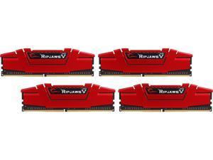 G.SKILL Ripjaws V Series 32GB (4 x 8GB) 288-Pin DDR4 SDRAM DDR4 3200 (PC4 25600) Desktop Memory Model F4-3200C15Q-32GVR