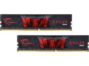 G.SKILL Aegis 8GB (2 x 4GB) 288-Pin DDR4 SDRAM DDR4 2133 (PC4 17000) Intel Z170 Platform / Intel X99 Platform Desktop Memory Model F4-2133C15D-8GIS