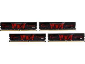 G.SKILL Aegis 64GB (4 x 16GB) 288-Pin DDR4 SDRAM DDR4 2133 (PC4 17000) Intel Z170 Platform / Intel X99 Platform Desktop Memory Model F4-2133C15Q-64GIS
