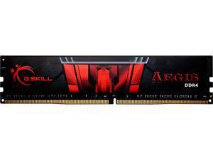 G.SKILL Aegis 4GB 288-Pin DDR4 SDRAM DDR4 2133 (PC4 17000) Intel Z170 Platform / Intel X99 Platform Desktop Memory Model F4-2133C15S-4GIS