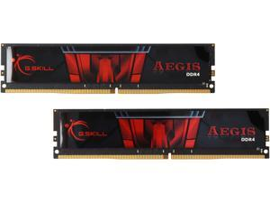 G.SKILL Aegis 16GB (2 x 8GB) 288-Pin DDR4 SDRAM DDR4 2400 (PC4 19200) Desktop Memory Model F4-2400C15D-16GIS