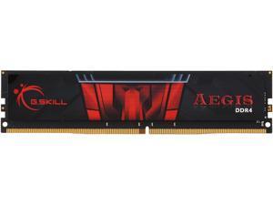 G.SKILL Aegis 8GB 288-Pin DDR4 SDRAM DDR4 2400 (PC4 19200) Intel Z170 Platform / Intel X99 Platform Desktop Memory Model F4-2400C15S-8GIS