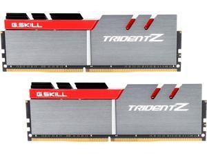 G.SKILL TridentZ Series 32GB (2 x 16GB) 288-Pin DDR4 SDRAM DDR4 3400 (PC4 27200) Intel Z370 Platform Desktop Memory Model F4-3400C16D-32GTZ