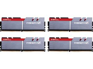 G.SKILL TridentZ Series 64GB (4 x 16GB) 288-Pin DDR4 SDRAM DDR4 3400 (PC4 27200) Intel Z370 Platform Desktop Memory Model F4-3400C16Q-64GTZ