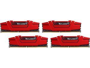G.SKILL Ripjaws V Series 64GB (4 x 16GB) 288-Pin DDR4 SDRAM DDR4 3400 (PC4 27200) Desktop Memory Model F4-3400C16Q-64GVR