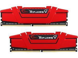2 x 8GB G.SKILL 16GB Aegis DDR4 PC4-21300 2666MHz 288-Pin Desktop Memory Model F4-2666C19D-16GIS