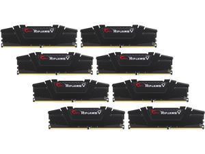 G.SKILL Ripjaws V Series 64GB (8 x 8GB) 288-Pin DDR4 SDRAM DDR4 3200 (PC4 25600) Desktop Memory Model F4-3200C14Q2-64GVK