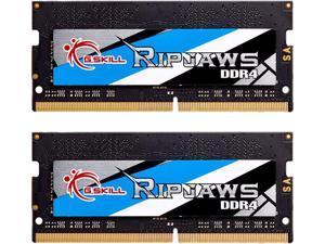 G.SKILL Ripjaws Series 16GB (2 x 8GB) 260-Pin DDR4 SO-DIMM DDR4 3000 (PC4 24000) Laptop Memory Model F4-3000C16D-16GRS