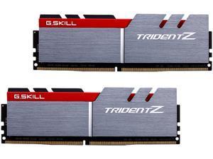 G.SKILL TridentZ Series 16GB (2 x 8GB) 288-Pin DDR4 SDRAM DDR4 4133 (PC4 33000) Intel Z170 / Z370 / X299 Desktop Memory Model F4-4133C19D-16GTZA