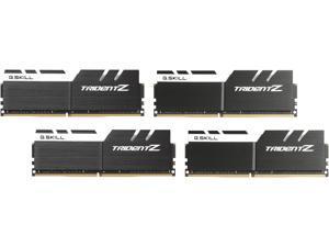 G.SKILL TridentZ Series 64GB (4 x 16GB) 288-Pin DDR4 SDRAM DDR4 3200 (PC4 25600) Intel Z370 Platform / Intel X99 Platform Desktop Memory Model F4-3200C16Q-64GTZKW