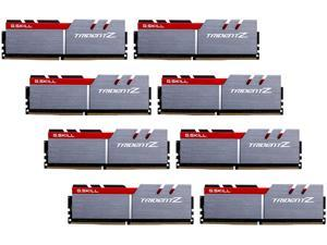 G.SKILL TridentZ Series 128GB (8 x 16GB) 288-Pin DDR4 SDRAM DDR4 3200 (PC4 25600) Intel X99 Platform Memory (Desktop Memory) Model F4-3200C14Q2-128GTZ