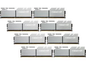 G.SKILL TridentZ Series 128GB (8 x 16GB) 288-Pin DDR4 SDRAM DDR4 3200 (PC4 25600) Intel X99 Platform Desktop Memory Model F4-3200C14Q2128GTZSW