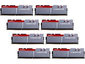 G.SKILL TridentZ Series 128GB (8 x 16GB) 288-Pin DDR4 SDRAM DDR4 3200 (PC4 25600) Intel X99 Platform Memory (Desktop Memory) Model F4-3200C16Q2-128GTZ