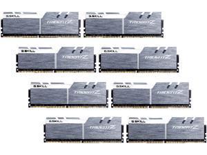 G.SKILL TridentZ Series 64GB (8 x 8GB) 288-Pin DDR4 SDRAM DDR4 3200 (PC4 25600) Intel X99 Platform Desktop Memory Model F4-3200C14Q2-64GTZSW