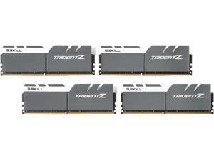 G.SKILL TridentZ Series 64GB (4 x 16GB) 288-Pin DDR4 SDRAM DDR4 3200 (PC4 25600) Intel Z370 Platform / Intel X99 Platform Desktop Memory Model F4-3200C14Q-64GTZSW
