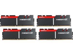 G.SKILL TridentZ Series 64GB (4 x 16GB) 288-Pin DDR4 SDRAM DDR4 3300 (PC4 26400) Intel X99 Platform Memory (Desktop Memory) Model F4-3300C16Q-64GTZ