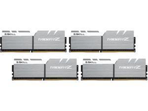 G.SKILL TridentZ Series 64GB (8 x 8GB) 288-Pin DDR4 SDRAM DDR4 3400 (PC4 27200) Intel X99 Platform Desktop Memory Model F4-3400C16Q2-64GTZSW