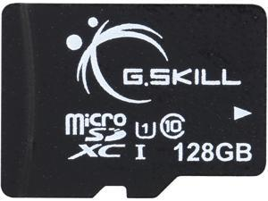 G.Skill 128GB microSDXC UHS-I/U1 Class 10 Memory Card Without Adapter (FF-TSDXC128GN-U1)