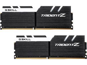 G.SKILL TridentZ Series 32GB (2 x 16GB) 288-Pin DDR4 SDRAM DDR4 3200 (PC4 25600) Intel XMP 2.0 Desktop Memory Model F4-3200C16D-32GTZKW
