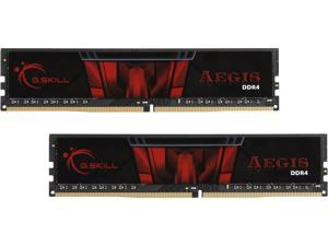 G.SKILL Aegis 16GB (2 x 8GB) 288-Pin DDR4 SDRAM DDR4 3000 (PC4 24000) Intel XMP 2.0 Desktop Memory Model F4-3000C16D-16GISB