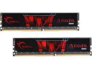 G.SKILL Aegis 32GB (2 x 16GB) 288-Pin DDR4 SDRAM DDR4 3000 (PC4 24000) Desktop Memory Model F4-3000C16D-32GISB