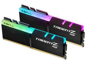 G.SKILL TridentZ RGB Series 16GB (2 x 8GB) 288-Pin DDR4 SDRAM DDR4 3200 (PC4 25600) Intel XMP 2.0 Desktop Memory Model F4-3200C16D-16GTZR