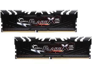 G.SKILL Flare X Series 16GB (2 x 8GB) 288-Pin DDR4 SDRAM DDR4 3200 (PC4 25600) AMD X370 / B350 Memory (Desktop Memory) Model F4-3200C14D-16GFX