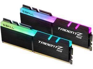 G.SKILL TridentZ RGB Series 32GB (2 x 16GB) 288-Pin DDR4 SDRAM DDR4 3200 (PC4 25600) Desktop Memory Model F4-3200C14D-32GTZR