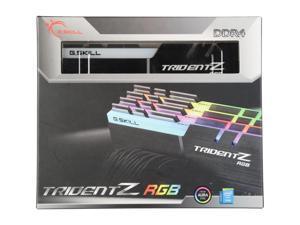 G.SKILL TridentZ RGB Series 64GB (4 x 16GB) 288-Pin DDR4 SDRAM DDR4 3200 (PC4 25600) Desktop Memory Model F4-3200C14Q-64GTZR