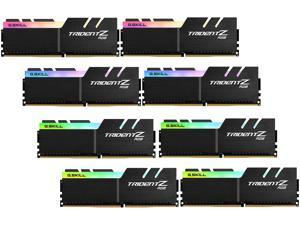 G.SKILL TridentZ RGB Series 128GB (8 x 16GB) 288-Pin DDR4 SDRAM DDR4 3600 (PC4 28800) Intel X299 Desktop Memory Model F4-3600C17Q2-128GTZR
