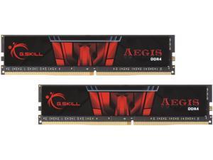 G.SKILL Aegis 8GB (2 x 4GB) 288-Pin DDR4 SDRAM DDR4 2400 (PC4 19200) Intel X299 / Z270 / Z170 / X99 Platform Desktop Memory Model F4-2400C17D-8GIS