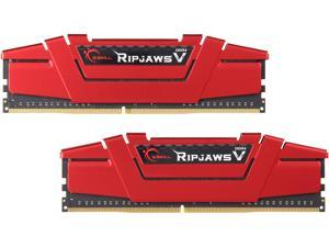 G.SKILL Ripjaws V Series 8GB (2 x 4GB) 288-Pin DDR4 SDRAM DDR4 2400 (PC4 19200) Desktop Memory Model F4-2400C17D-8GVR