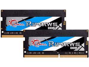 G.SKILL Ripjaws Series 16GB (2 x 8GB) 260-Pin DDR4 SO-DIMM DDR4 3200 (PC4 25600) Laptop Memory Model F4-3200C16D-16GRS