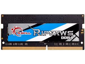 G.SKILL Ripjaws Series 8GB 260-Pin DDR4 SO-DIMM DDR4 3200 (PC4 25600) Laptop Memory Model F4-3200C16S-8GRS