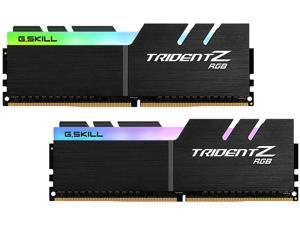 G.SKILL Trident Z RGB (For AMD) 16GB (2 x 8GB) 288-Pin DDR4 SDRAM DDR4 2400 (PC4 19200) AMD X370 / X399 Desktop Memory Model F4-2400C15D-16GTZRX