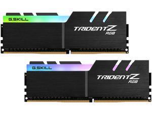 G.SKILL Trident Z RGB (For AMD) 16GB (2 x 8GB) 288-Pin DDR4 SDRAM DDR4 3200 (PC4 25600) Desktop Memory Model F4-3200C14D-16GTZRX