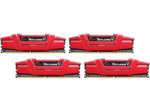 G.SKILL Ripjaws V Series 64GB (4 x 16GB) 288-Pin DDR4 SDRAM DDR4 3000 (PC4 24000) Desktop Memory Model F4-3000C16Q-64GVRB