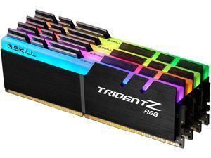G.SKILL TridentZ RGB Series 32GB (4 x 8GB) 288-Pin DDR4 SDRAM DDR4 2666 (PC4 21300) Desktop Memory Model F4-2666C18Q-32GTZR