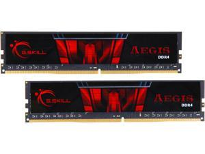 G.SKILL Aegis 16GB (2 x 8GB) 288-Pin DDR4 SDRAM DDR4 2666 (PC4 21300) Desktop Memory Model F4-2666C19D-16GIS