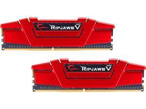 G.SKILL Ripjaws V Series 16GB (2 x 8GB) 288-Pin DDR4 SDRAM DDR4 2666 (PC4 21300) Desktop Memory Model F4-2666C19D-16GVR