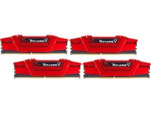 G.SKILL Ripjaws V Series 32GB (4 x 8GB) 288-Pin DDR4 SDRAM DDR4 2666 (PC4 21300) Desktop Memory Model F4-2666C19Q-32GVR