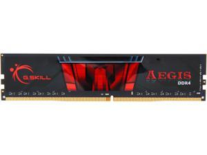 G.SKILL Aegis 8GB 288-Pin DDR4 SDRAM DDR4 2666 (PC4 21300) Desktop Memory Model F4-2666C19S-8GIS