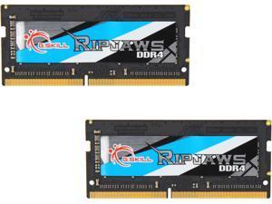 G.SKILL Ripjaws SO-DIMM 16GB (2 x 8GB) 260-Pin DDR4 SO-DIMM DDR4 3200 (PC4 25600) Laptop Memory Model F4-3200C18D-16GRS