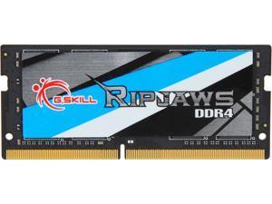 G.SKILL Ripjaws SO-DIMM 16GB 260-Pin DDR4 SO-DIMM DDR4 3200 (PC4 25600) Laptop Memory Model F4-3200C18S-16GRS