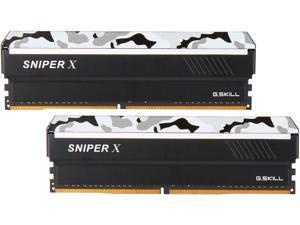 G.SKILL Sniper X Series 16GB (2 x 8GB) 288-Pin DDR4 SDRAM DDR4 3400 (PC4 27200) AMD X370 Desktop Memory Model F4-3400C16D-16GSXW