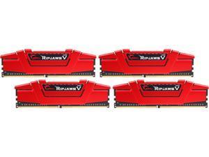 G.SKILL Ripjaws V Series 32GB (4 x 8GB) 288-Pin DDR4 SDRAM DDR4 3600 (PC4 28800) Desktop Memory Model F4-3600C19Q-32GVRB