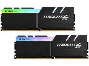 G.SKILL TridentZ RGB Series 16GB (2 x 8GB) 288-Pin DDR4 SDRAM DDR4 4600 (PC4 36800) Desktop Memory Model F4-4600C18D-16GTZR