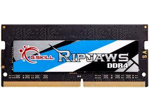 G.SKILL Ripjaws Series 8GB 260-Pin DDR4 SO-DIMM DDR4 2666 (PC4 21300) Laptop Memory Model F4-2666C19S-8GRS