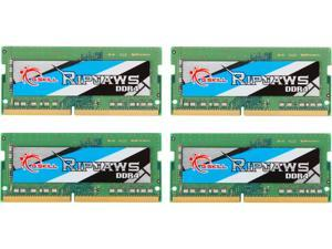 G.SKILL Ripjaws Series 32GB (4 x 8GB) 260-Pin DDR4 SO-DIMM DDR4 2666 (PC4 21300) Laptop Memory Model F4-2666C19Q-32GRS